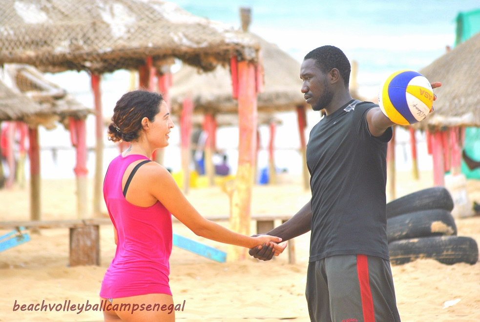 learn to play beach volley